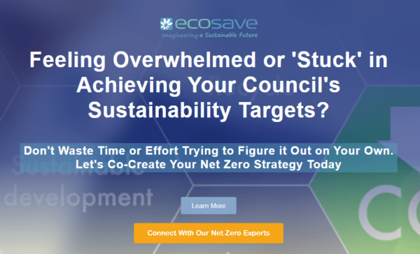 Feeling Overwhelmed or Stuck in Your Sustainability Journey - Let's Co-Create Your Net Zero Strategy - Connect with Ecosave